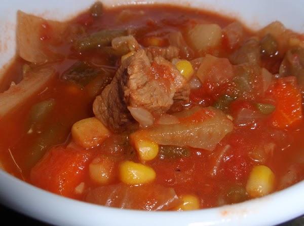 Homemade Veggie Soup Recipe