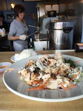 Photo: Tasty shredded grilled Chicken at Cordon Bleu Vietnamese Restaurant