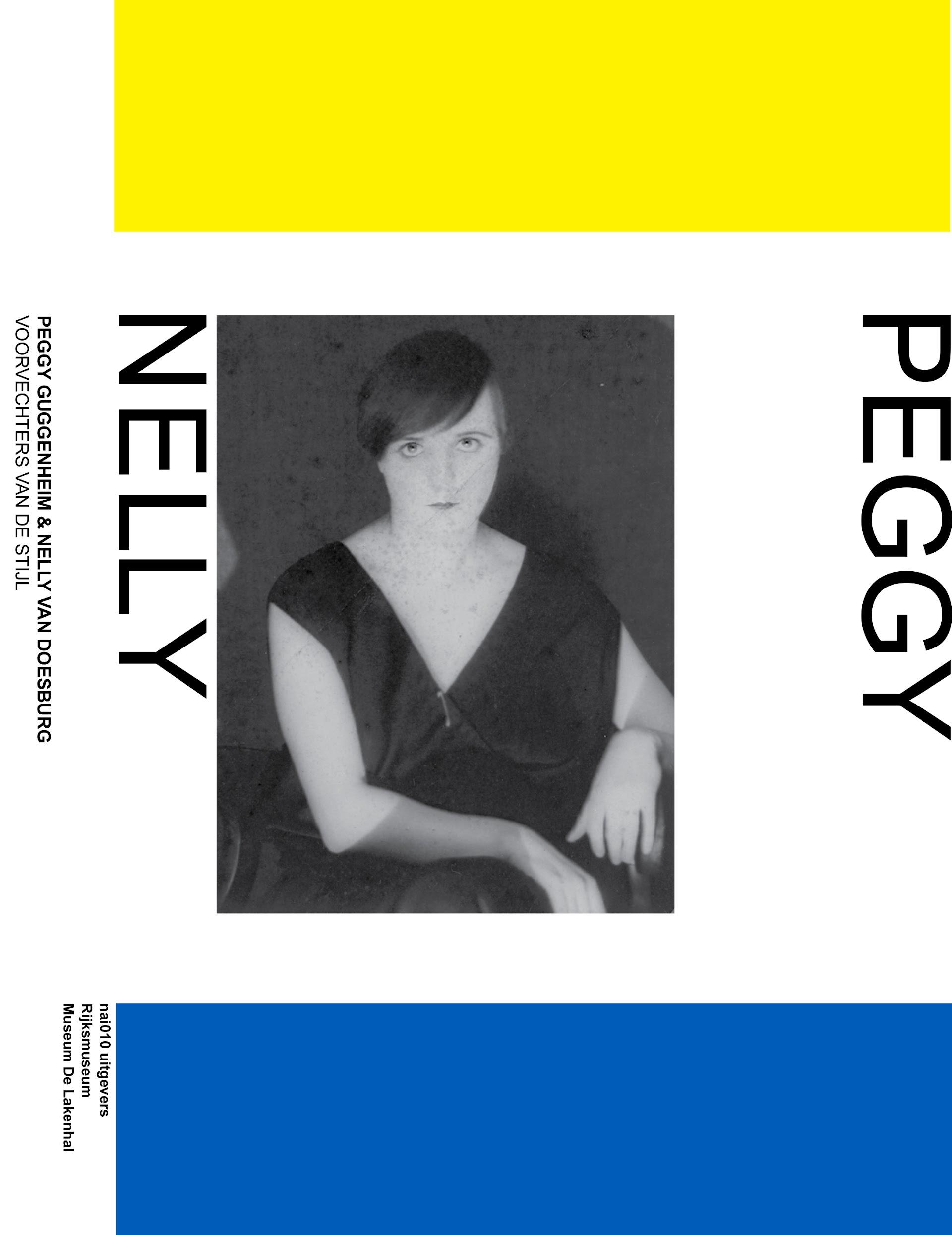 Visual van het boek 'Peggy Guggenheim en Nelly van Doesburg: Voorvechters van De Stijl'