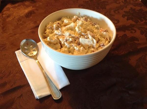 Creamy & Sinful Cauliflower Salad Recipe
