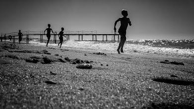 Photo: beach race...  #street #streetphotography #shootthestreet #blackandwhite #blackandwhitephotography #bw #monochrome