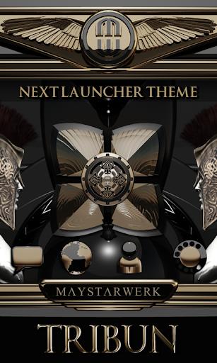 Next Launcher theme Tribun