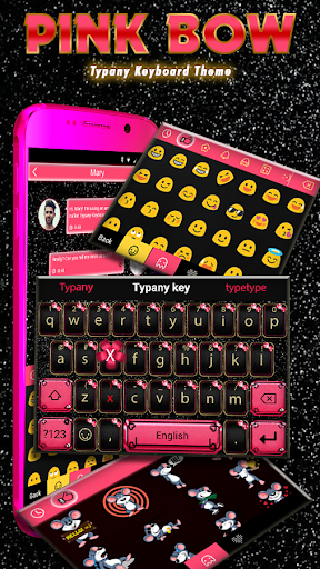 個人化必備免費app推薦|Pink Bow Theme&Emoji Keyboard線上免付費app下載|3C達人阿輝的APP