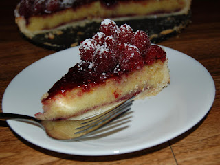 Raspberry Marzipan Tart Recipe