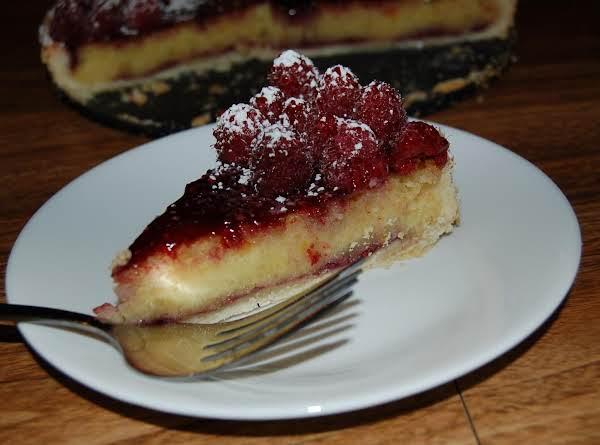 Raspberry Marzipan Tart Recipe