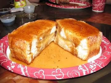 Island stuffed toast