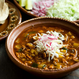 Jackfruit Vegan Pozole Rojo Recipe