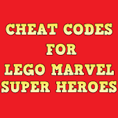 Cheats for Lego Super Heroes