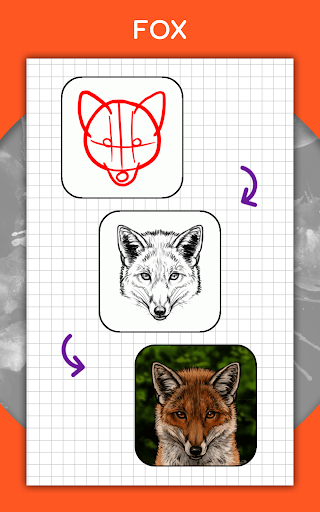 How to draw animals step by step, drawing lessons 1.3 Screenshots 11