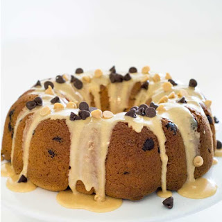 Chocolate Chip Peanut Butter Cake