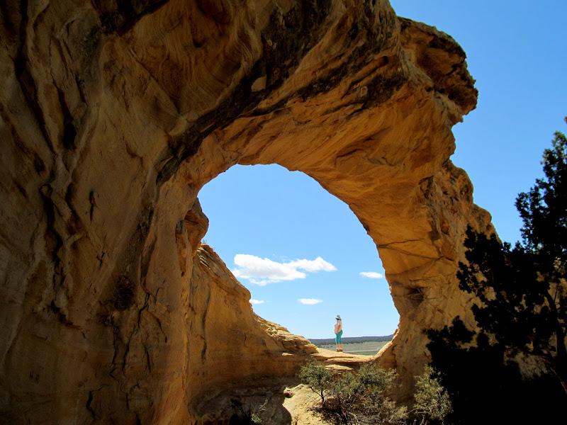 Photo: Traci at Dutchman Arch