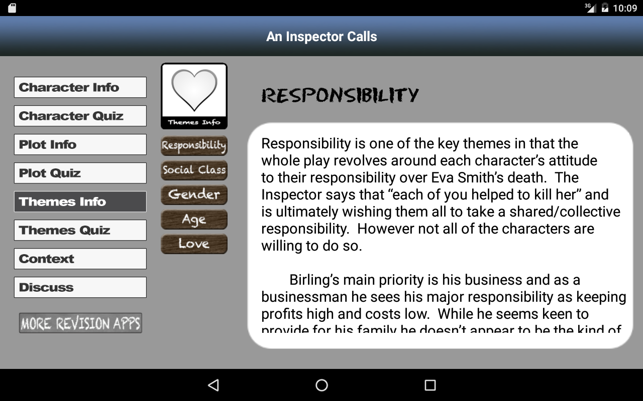 Revise An Inspector Calls- screenshot