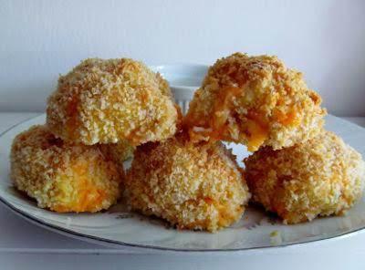 Crispy Cheesy Chicken Balls Recipe