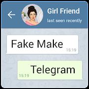 fake chat telegram-prank conversation (fake make)