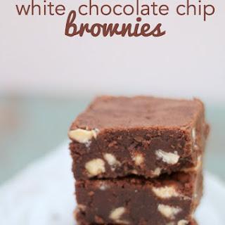 White Chocolate Chip Fudgy Brownies