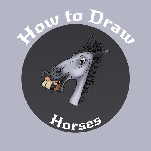 How to Draw Horse 遊戲 App LOGO-硬是要APP
