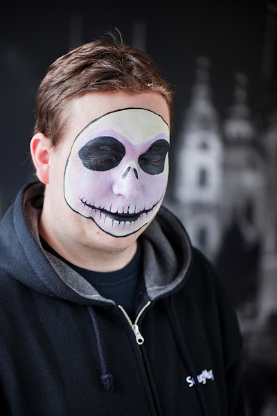 Photo: John Polanek, Support Hero, as Jack Skellington
