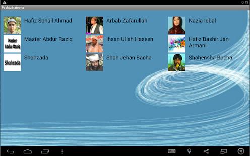 Pashto Naatain - náhled