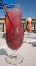 Photo: Blueberry Sangria at The Boathouse Bistro