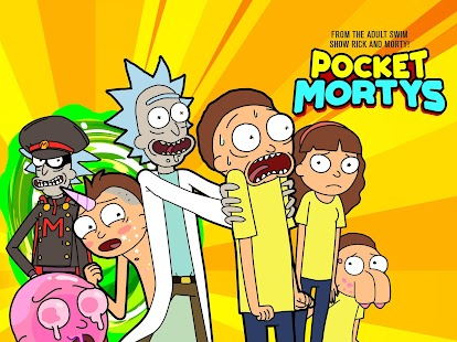 Pocket Mortys- screenshot thumbnail