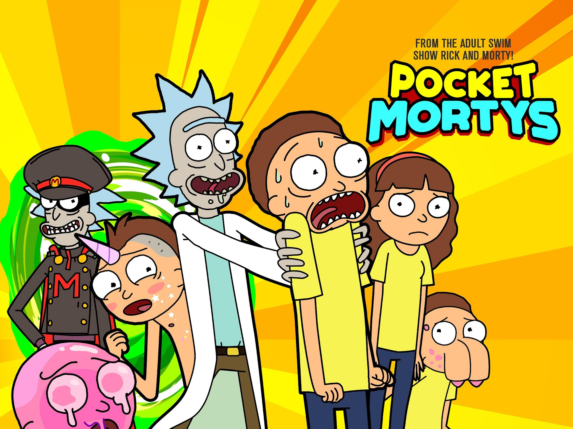 Pocket Mortys screenshot #6