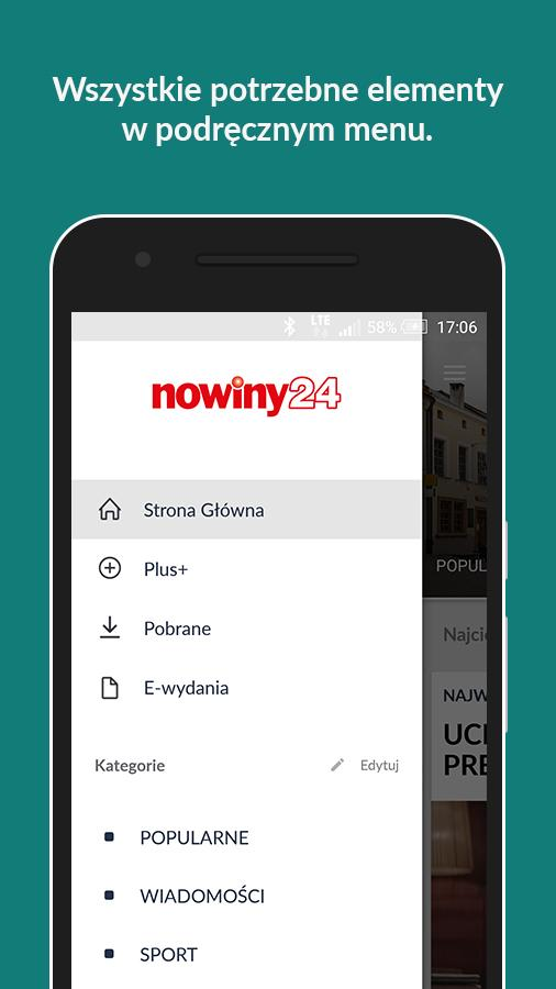Nowiny 24- screenshot