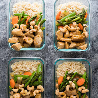 Maple Ginger Chicken Meal Prep Lunch Bowls Recipe