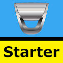 Dacia Starter — delayed engine start icon