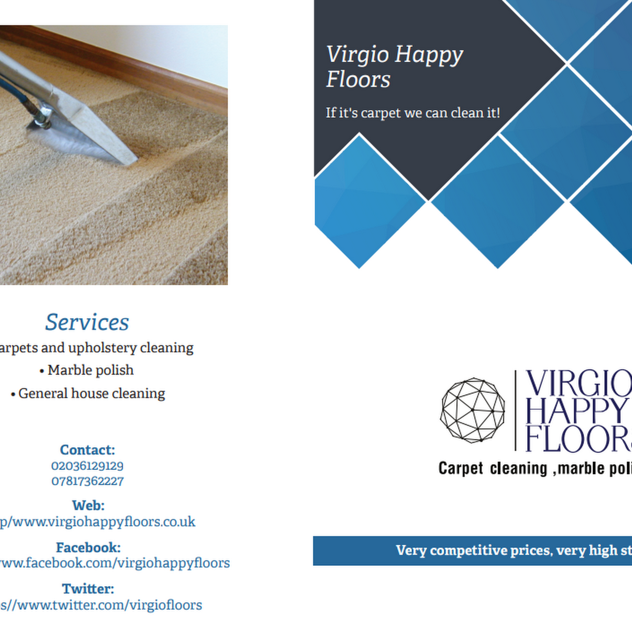 Virgio Happy Floors Carpet Cleaning Service - Happy floors customer service