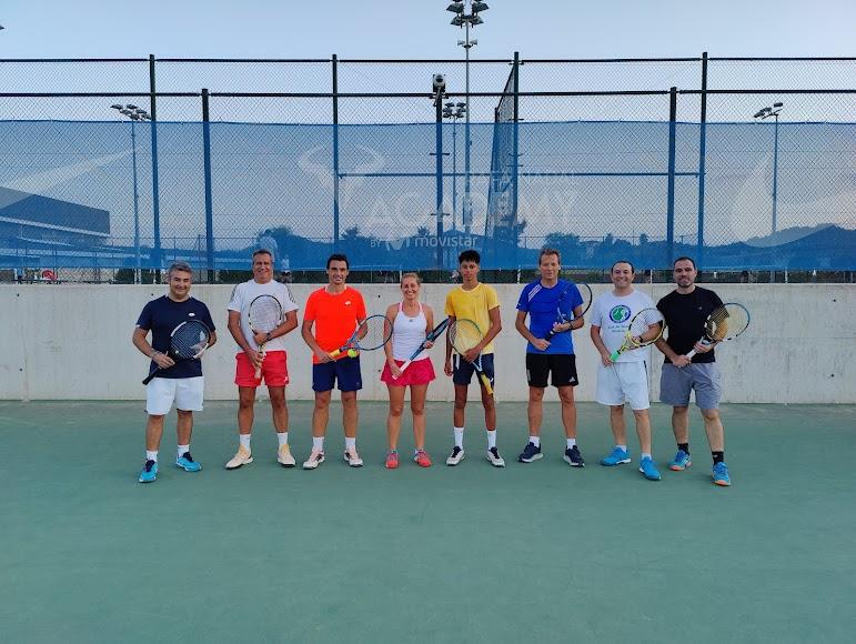 Una experiencia para la historia del tenis almeriense.