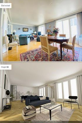 Vente appartement 5 pièces 117,72 m2
