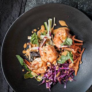 Shrimp Pad Thai Salad.