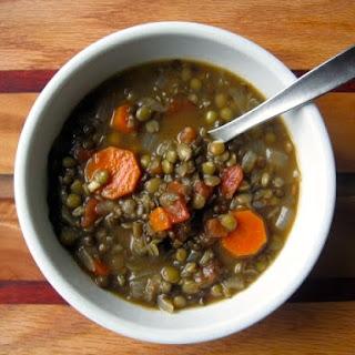 Triple Lentil Soup
