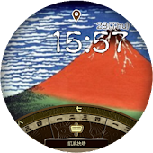 Ukiyo-e Watch - 36 Mt. Fuji -