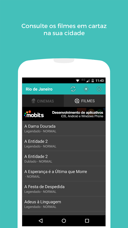 Cine Mobits - Guia de Cinemas- screenshot