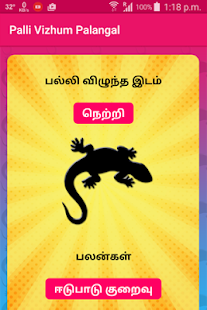 Palli (lizard) Vizhum Palangal - náhled