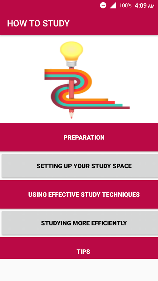 How to study TIPS FOR STUDY - STUDY APP- screenshot