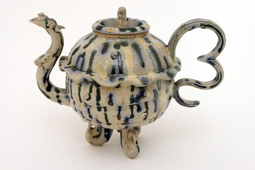 Peter Meanley Ceramic Teapot 20