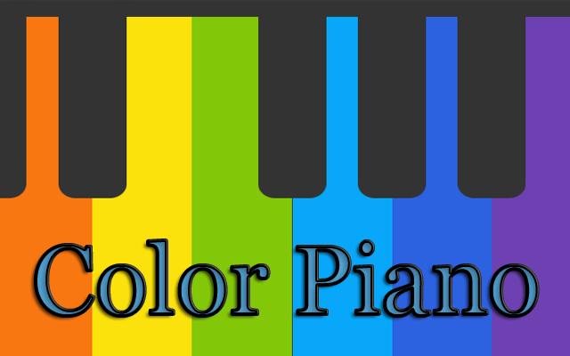 Virtual Color Piano