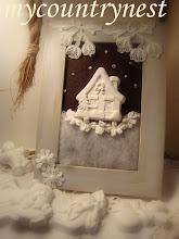 Photo: quadretto winter, lavoro per rivista milleidee