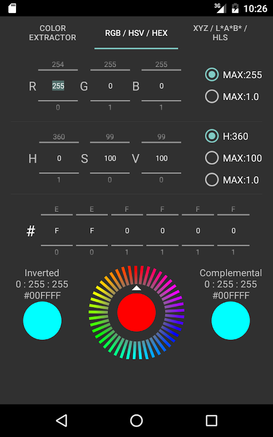 Color Extractor- screenshot