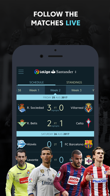 La Liga - Spanish Soccer League Official- screenshot