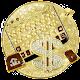 Golden Luxury Dollar Keyboard Theme APK