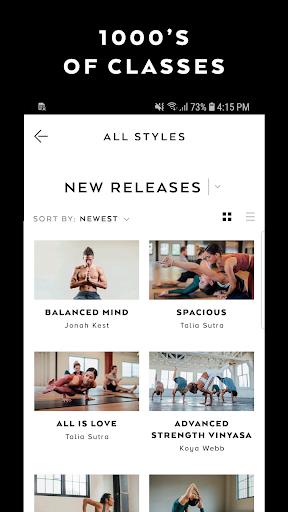 Alo Moves - Yoga Classes screenshot 1