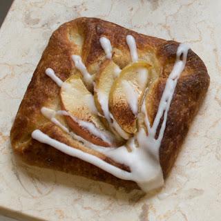 Apple Custard Danishes