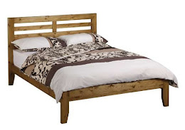 Pine traditional Bedstead for a Double Bed
