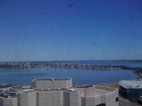 Photo: View from the Westpac offices of the Swan River