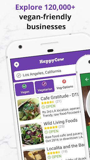 Find Vegan Restaurants & Vegetarian Food- HappyCow 62.0.26-free-v2 screenshots 4