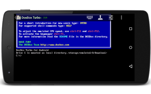 Screenshot for DosBox Turbo in Hong Kong Play Store