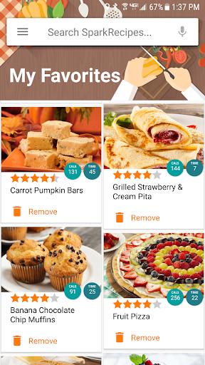 Healthy Recipes & Calculator screenshot
